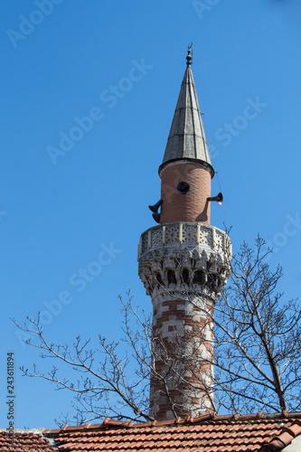 Fotografia  Minaret of an Ottoman style mosque