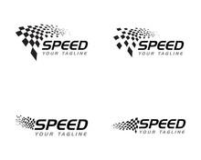 Race Flag Icon Design