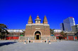 Leinwanddruck Bild - Sarira pagoda building landscape in the Five Pagoda Temple, Hohhot city, Inner Mongolia autonomous region, China