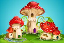 Magic Mushroom Group. Fairy Ho...