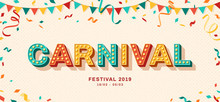 Carnival Retro Typography Design