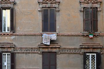 Fototapeta na wymiar Waschtag in Italien