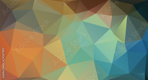 Vector triangle design background. Creative concept layout template for web and mobile app,