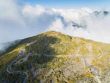 Reunion, Reunion National Park, Maido Observation Point, View From Vulcano Maido To Cirque De Mafate And Grand Benare