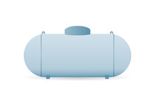 Propane Gas Tank Icon. Clipart...