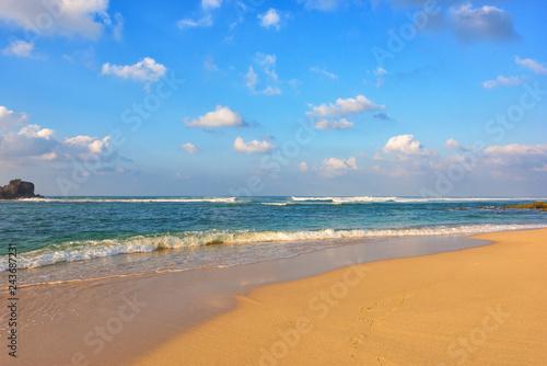 Obraz premium Tropikalna plaża na Sri Lance