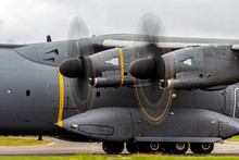 Modern Military Cargo Plane Turboprop Engines