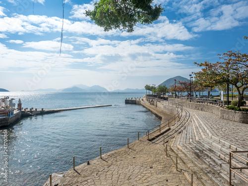 Fotografia, Obraz Coastline of repulse bay, Hong Kong