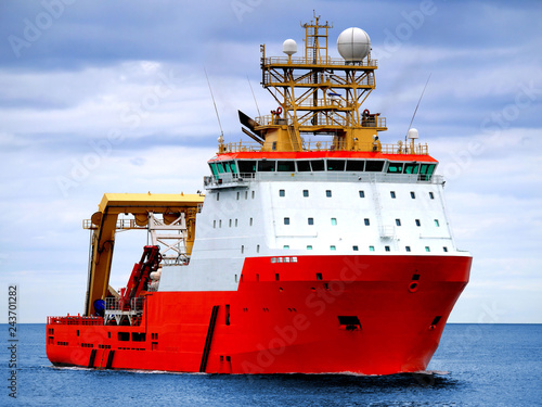 Leinwand Poster Multi-Purpose Offshore Support Vessel.