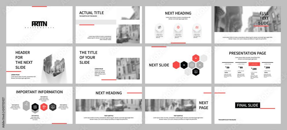 Fototapeta Business presentation