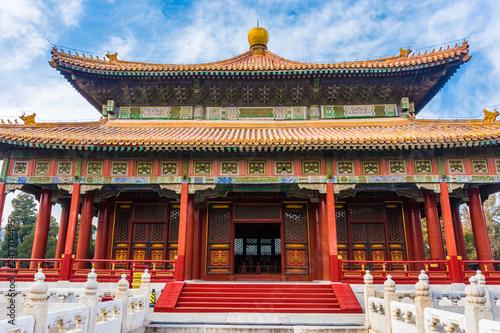 Valokuva Beautiful chinese confucian temple, Beijing