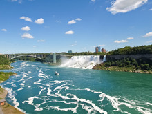 Niagara Falls, A Complex Of Waterfalls On The Niagara River