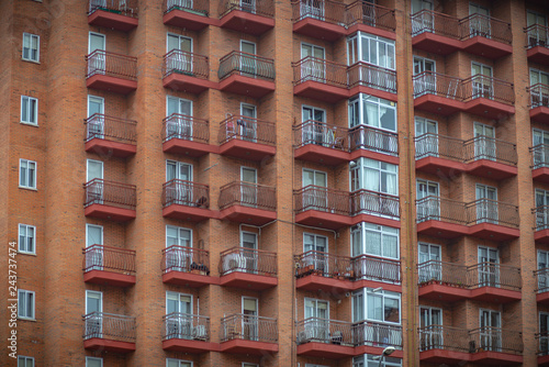 Fotografía  Residencia estertores a la intemperie, balcones, fachada de - de casa, Zamora España
