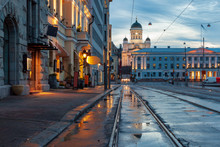 View Of Helsinki, Finland Afte...