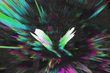 Abstract Colorful Digital 3d G...