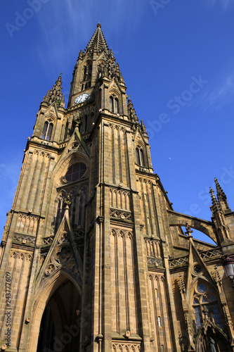 Fotografía  Catedral de San Sebastián (Buen Pastor), en Guipúzcoa