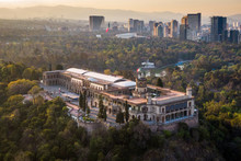 Mexico City, Aerial View Of Ch...