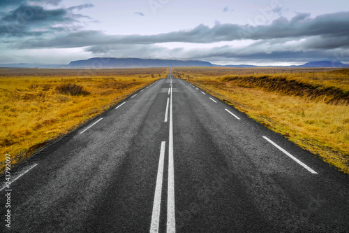 In de dag Route 66 Iceland