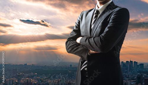 Fotomural ビジネスマン