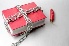 Chain Around The Red Forbidden...