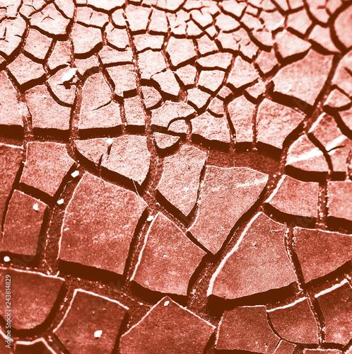 Fototapeta Risse in Oberfläche als Textur