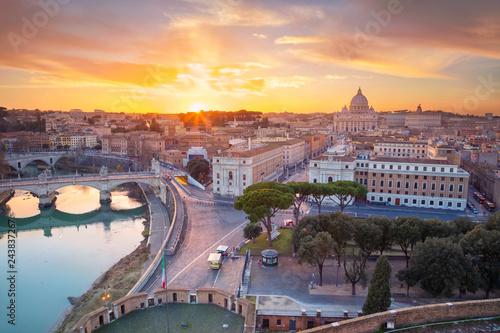 Rome, Vatican City Canvas