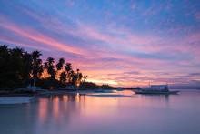 Amazing Colourful Sunset Over ...