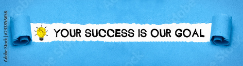Photo Your success is our goal