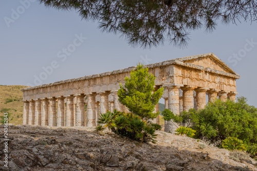 Fotografia  Segesta - an ancient city on the northern coast of Sicily