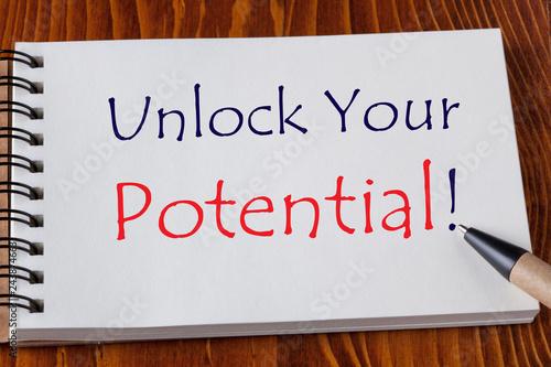 Fotografía  Unlock Your Potential
