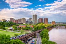 Richmond, Virginia, USA Downtown Skyline