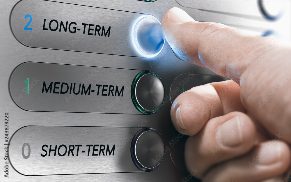 Fototapeta Asset Management, Long-Term Investment or Project Concept