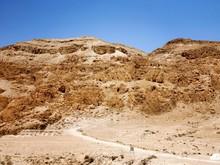 Qumran Caves At Israel