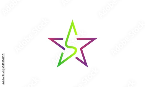 Star Monogram Logo Buy This Stock Vector And Explore Similar Vectors At Adobe Stock Adobe Stock