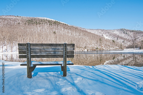 Fotografie, Obraz  Sherando Lake Recreation Area Scenic Landscape