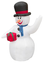 Funny Inflatable Snowman