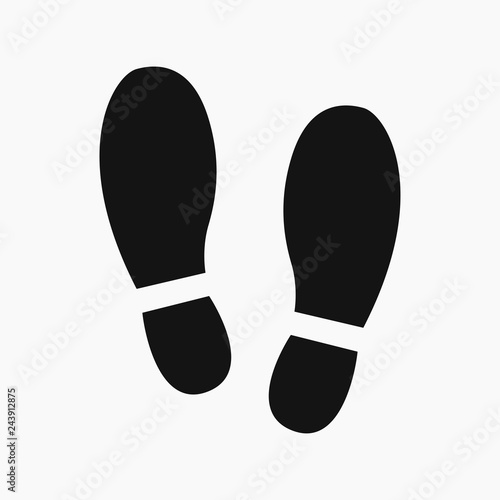 6a5f1e8839a5 Shoe Prints. Vector illustration. EPS 10. - Buy this stock vector ...
