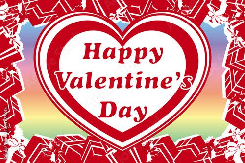 Fotografia  背景,贈り物,バレンタインデー,赤いハートパターン,ギフト,プレゼント,無料素材,宣伝ポスター,広告