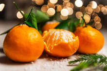 Fresh Clementines Or Tangerine...