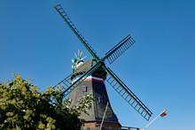 Nordstrand Bei Husum Windmühle