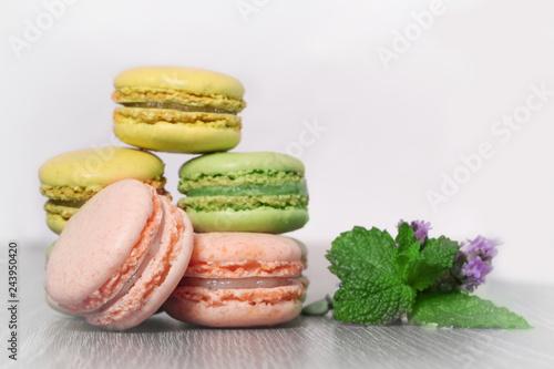 macaron,pâtisserie Canvas Print
