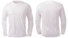 White Long Sleeved Shirt Desig...