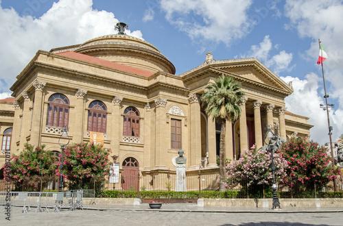Teatro Massimo Opera house, Palermo - Buy this stock photo and ...