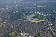 Wimbledon, South London - Aeri...