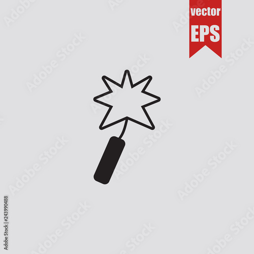 Fotografie, Obraz  Petard icon.Vector illustration.