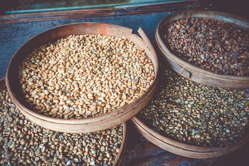 Deurstickers Asia land Kopi Luwak coffe beans, Bali, Indonesia
