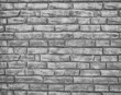 Gray background made from concrete bricks
