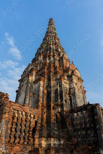 Foto  Wat Chaiwatthanaram is a Buddhist temple.