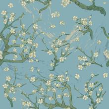 Spring Almond Branch, Flowers ...