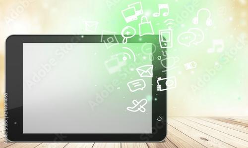 Tela  Digital tablet.